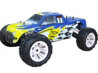 Monster Truck Blade TS 1/10 Off Road con motor a Scoppio Go.18 a dos marchas Radio 2.4 GHz 4 WD RTR rh1002 m VRX: Amazon.es: Juguetes y juegos