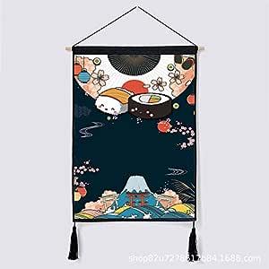 Simple japonés y Pintura de Viento Caja de medidor eléctrico ...