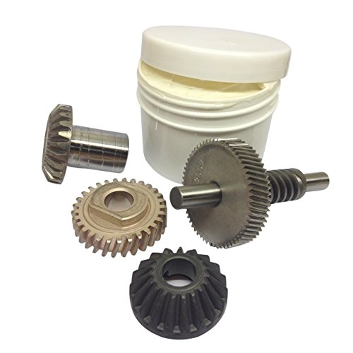 KITCHENAID MIXER 6QT WORM GEAR, WORM GEAR FOLLOWER, BEVELLED GEAR