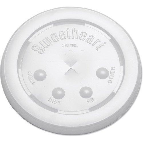 Solo L32BN Translucent Plastic Bubble Lid Fits H32TNJ (SCCL32BN) Category: Cup Lids