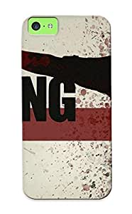 LJF phone case YVOxEIF4988UlnMm Cover Case - The Walking Dead Protective Case Compatibel With iphone 4/4s