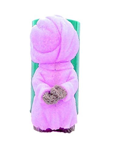 Inception Pro Infinite Silicone mold mould arts and crafts of a bear with bathrobe also suitable for candles