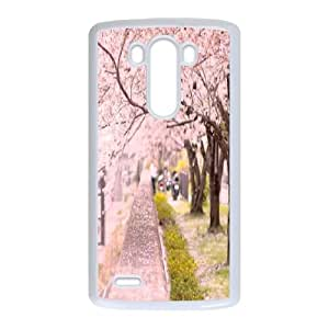 ZK-SXH - Cherry blossoms Diy Cell Phone Case for LG G3, Cherry blossoms Personalized Case