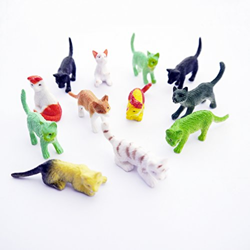 Cat Pet Animals Toy Figures (12 - Sto Planet