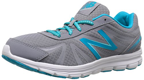New Balance Women's W645V2 Running Shoe, Grey/Teal, 12 B US For Sale