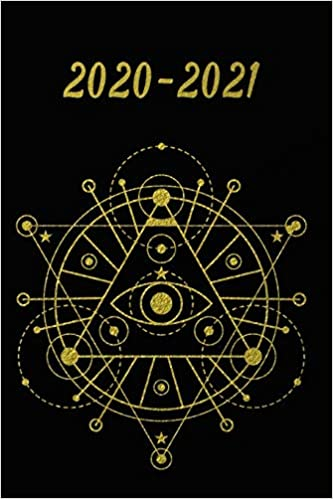2020 - 2021: 2 Year Weekly Planner 2020 - 2021 - Black Gold ...