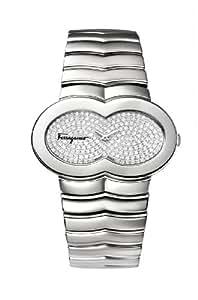 Salvatore Ferragamo Women's F59MBQ9902F S099 Assoluto Diamond Stainless Steel Watch