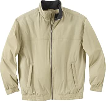 Ash City Mens Insulated Bomber Jacket_Fossil w/Heather Charcoal_S
