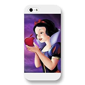Customized White Hard Plastic Case Disney Cartoon Snow White for Case For Samsung Galaxy S3 i9300 Cover