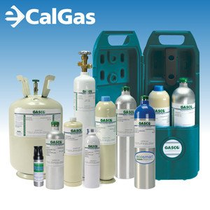 RAE Systems 600-0050-007 Calibration Gas: 2.5% vol. Methane, 18% Oxygen, 50 ppm Carbon Monoxide, 10 ppm Hydrogen Sulfide, Balance Nitrogen