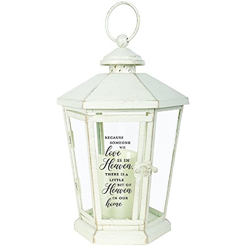 Carson Heaven Home Antique Decorative Candle Lanterns White