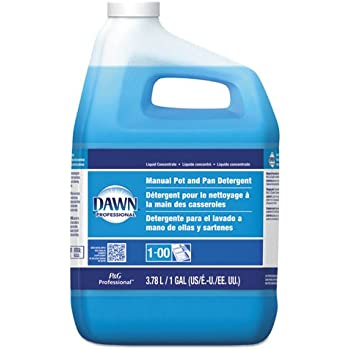 Original Dawn Manual Pot & Pan Dish Detergent, 1 Gallon Bottles (4 Bottles/Carton) - BMC- PGC57445