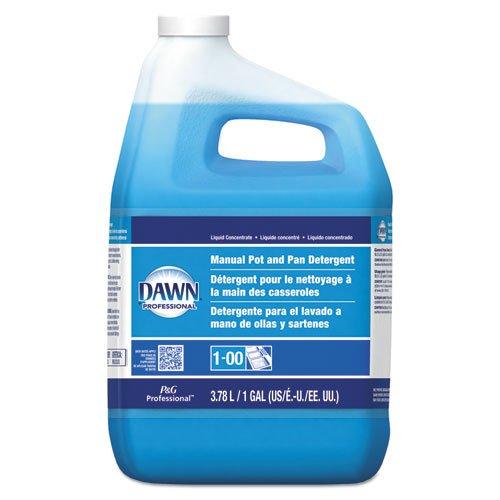Original Dawn Manual Pot & Pan Dish Detergent, 1 Gallon Bottles (4 Bottles/Carton) - BMC- PGC57445