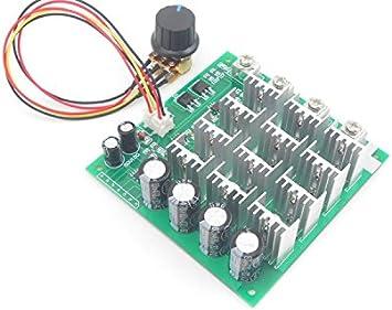 RLECS PWM DC Motor Speed Controller Speed Adjustable Reversible Reversing Driver Switch 1203BB 6V 12V 24V 28V 3A