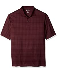 Men's Big and Tall Short Sleeve Marled Knit Polo