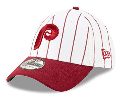 New Era Philadelphia Phillies 39THIRTY MLB Cooperstown Logo Pack Flex Fit Hat