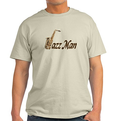 CafePress - Jazz Man Sax Saxophone - 100% Cotton T-Shirt for sale  Delivered anywhere in Canada