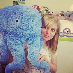 Squishable// Blue Octopus Plush 15
