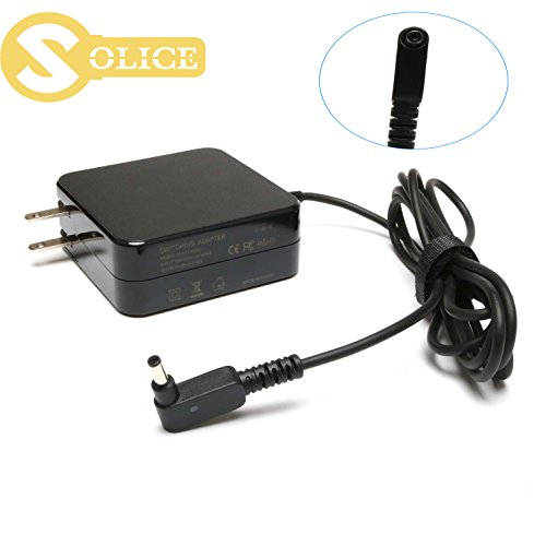 SOLICE 65W ADP-65AW A Adapter Charger Power Cord for Asus Chromebook C300 13.3