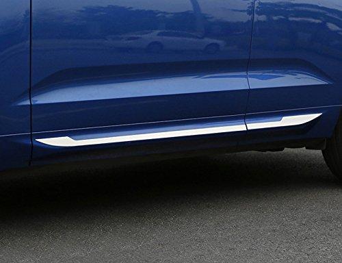 Acciaio INOX cromato porta laterale Body Molding copertura Trim set decorativo per auto Acessory VVC6