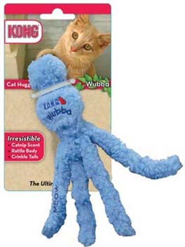 KONG Cat Hugga Wubba, Cat Toy (Colors Vary), My Pet Supplies