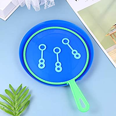 TOYANDONA Bubble Wands Set, Big Bubbles Wand Bubble Blower Set Bubble Making Toy Bubble Maker for Playtime/6Pcs: Toys & Games