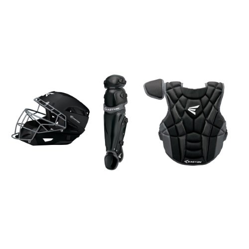 Easton Prowess P2 Fast Pitch Catcher's Box Set, Black