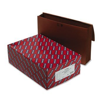 Expanding Wallet - REDROPE WITH ELASTIC CORD, 15 X 10, 5-1/4, 10/BOX(sold individuall) by Smead