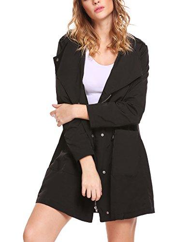 fall jacket with hood - 5