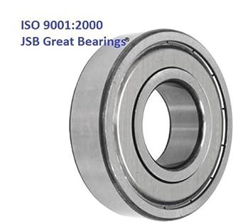 Qty. 2 6003-ZZ metal shields 6003Z bearing 6003 2Z ball bearings 6003 ZZ
