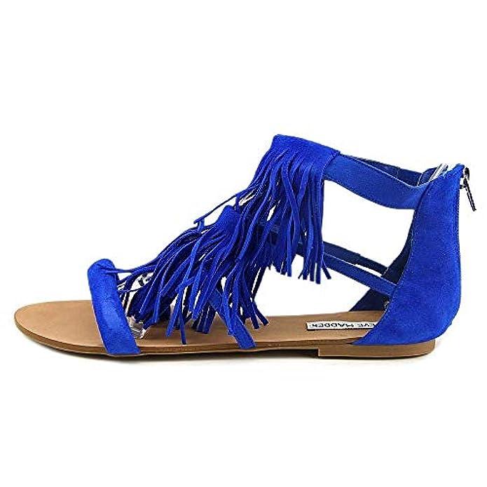 Scarpe E Borse Da Donna Sandali Steve Madden Favorit Women Blue Gladiator Sandal 7 M