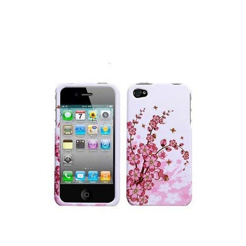 Apple Iphone 3g Crystal - Spring Flower Design Crystal Clip-on Hard Skin Case Cover for Apple iPhone 3G/Apple iPhone 3GS