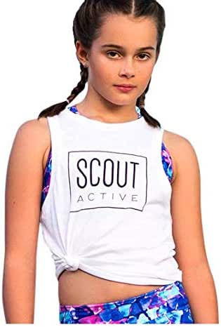 Scout Active Tank Tee White