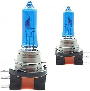 Zesfor Bombillas H15 Efecto Xenon 5000ºk Amazon Es Coche Y Moto