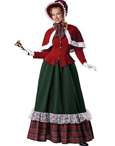 InCharacter Costumes Women's Yuletide Lady Holiday Costume, Multi, Medium