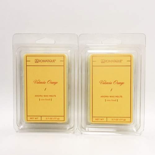 (Aromatique Wax Melts, Valencia Orange, 2.7 oz Tray (2))