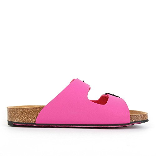 Spikey Nubuck Synthetic Fuchsia Black Pink 6 Scholl Ss dqYdUR