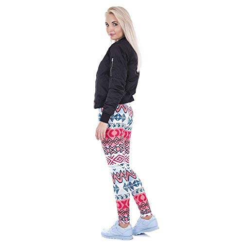 Leggings Creativos Legging Mujer Cintura Lga43472 De Fashion Lannister Africano Yoga Azteca Alta Impreso Legins Pantalones a0xY8q
