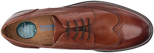 Nunn Bush Ardoise Homme Pointe Oxford Cognac