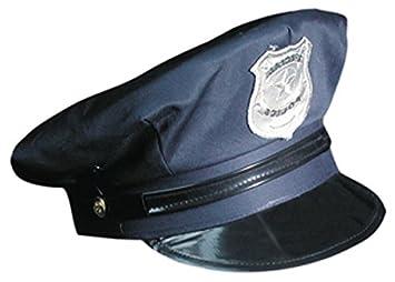 Marco Porta Gorra de Policía Ajustable Policía Sombrero  Amazon.es   Juguetes y juegos 7054798fee3