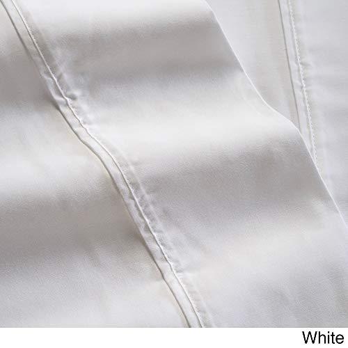 (Westport Linens Natural Tencel 500 Thread Count Sheet Set White California)
