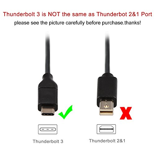 USB C to HDMI 4K 30Hz, J&D USB Type C (USB-C & Thunderbolt 3 Compatible) to HDTV HDMI Cable Supporting 4K - 9 Feet by J&D (Image #1)