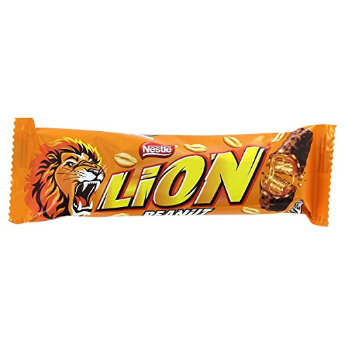 - Original Lion Peanut Chocolate Bar 4 Pack Imported From The UK England