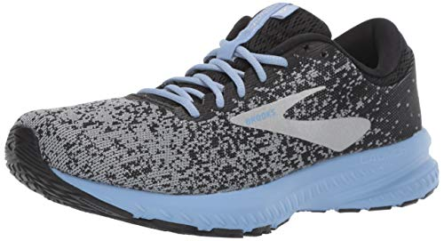 Brooks Women's Launch 6 Black/Primer/Bel Air Blue 7.5 B US