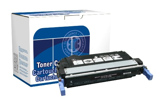 Q6460a Replacement - Dataproducts DPC4730B Remanufactured Toner Cartridge Replacement for HP Q6460A (Black)