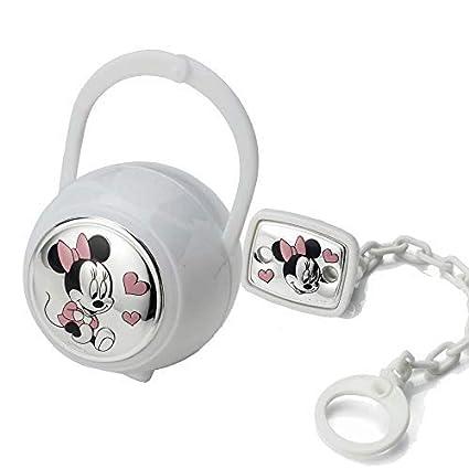 Disney Clip chupete, cadena portachupete con Caja de Plata - Ideal ...
