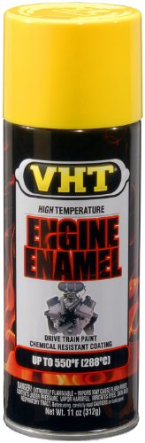 VHT SP128 Engine Enamel Gloss Yellow Can - 11 - Racing Engine