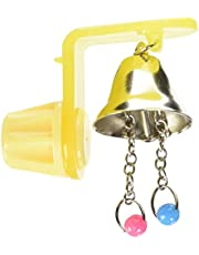 JW Pet Insight Hanger with Small Bell Bird Toy
