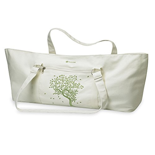 Gaiam Yoga Mat Tote Bag, Tree of Life
