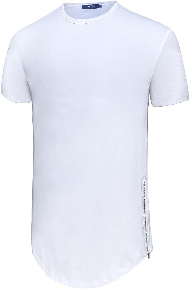 KAM Men/'s Big Tall  Size Printed Beach Club Crew Round Neck Floral Tee T Shirt
